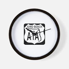 A1A Juno Beach Wall Clock