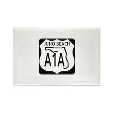 A1A Juno Beach Rectangle Magnet