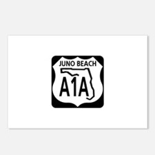 A1A Juno Beach Postcards (Package of 8)