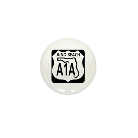 A1A Juno Beach Mini Button