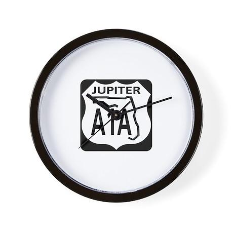 A1A Jupiter Wall Clock