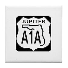 A1A Jupiter Tile Coaster