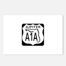 A1A Jupiter Postcards (Package of 8)