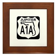A1A Jupiter Framed Tile