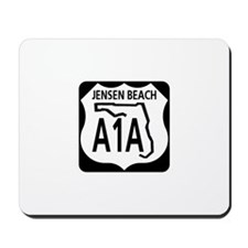A1A Jensen Beach Mousepad