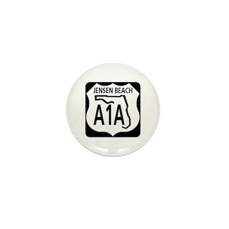 A1A Jensen Beach Mini Button (10 pack)