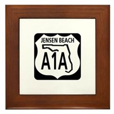 A1A Jensen Beach Framed Tile