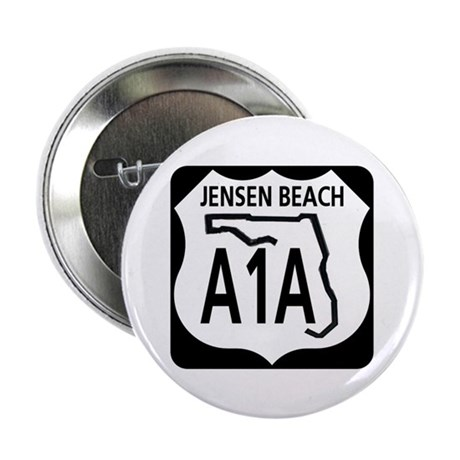 "A1A Jensen Beach 2.25"" Button (100 pack)"
