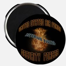 Security Forces Flame Badge Magnet