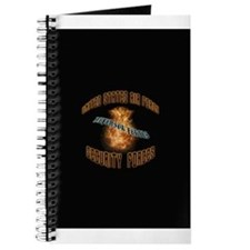 Security Forces Flame Badge Journal