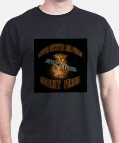 Security Forces Flame Badge T-Shirt