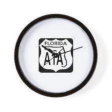 A1A Florida Wall Clock