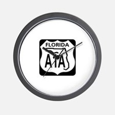A1A Florida Wall Clock