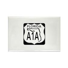 A1A Florida Rectangle Magnet