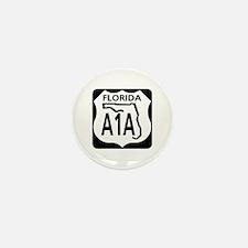 A1A Florida Mini Button (10 pack)