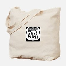 A1A Daytona Beach Tote Bag