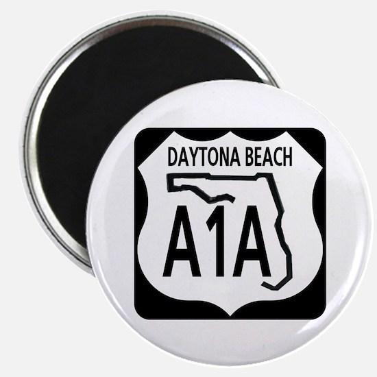 """A1A Daytona Beach 2.25"""" Magnet (10 pack)"""