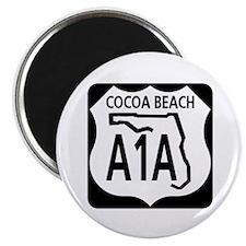 A1A Cocoa Beach Magnet