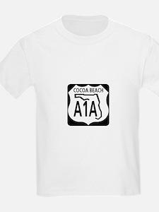 A1A Cocoa Beach T-Shirt