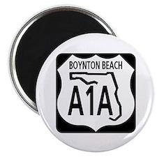 A1A Boynton Beach Magnet