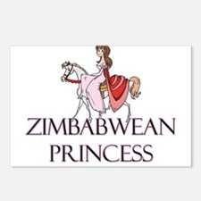 Zimbabwean Princess Postcards (Package of 8)