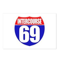 Intercourse 69 Postcards (Package of 8)