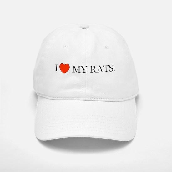 Rats Baseball Baseball Cap