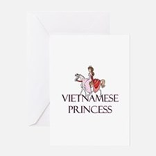 Vietnamese Princess Greeting Card