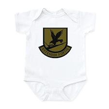 Subdued Defensor Fortis Infant Bodysuit