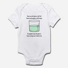 The Glass is Too Large Infant Bodysuit
