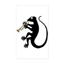 Gecko Trumpet Decal