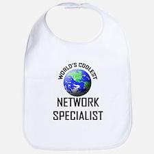 World's Coolest NETWORK SPECIALIST Bib