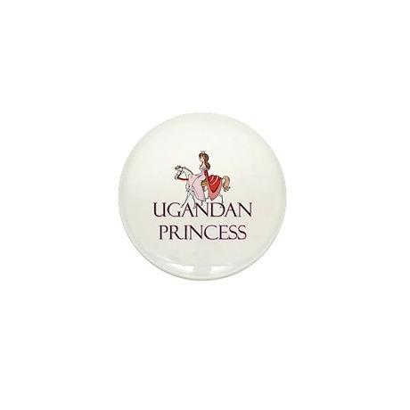 Ugandan Princess Mini Button (10 pack)