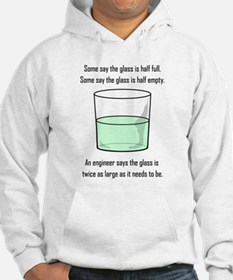 The Glass is Too Large Hoodie