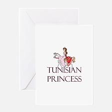 Tunisian Princess Greeting Card