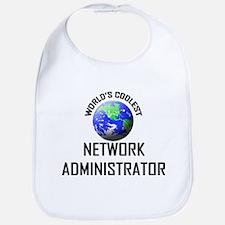 World's Coolest NETWORK ADMINISTRATOR Bib