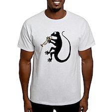 Gecko Trumpet T-Shirt