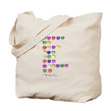 poetry candy valentine Tote Bag