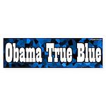 Obama True Blue bumper sticker