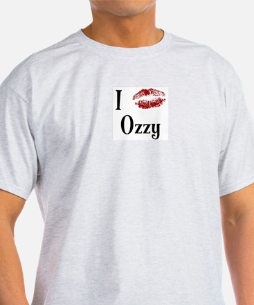 I Kissed Ozzy T-Shirt