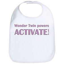 Wonder Twin Bib