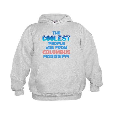 Coolest: Columbus, MS Kids Hoodie