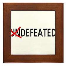 Defeated Framed Tile