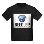World's Coolest NEEDLER Kids Dark T-Shirt