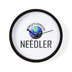 World's Coolest NEEDLER Wall Clock
