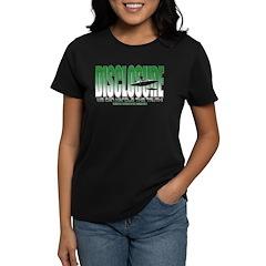 Colored Disclosure Women's Dark T-Shirt