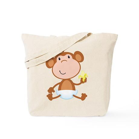 Baby Monkey Tote Bag