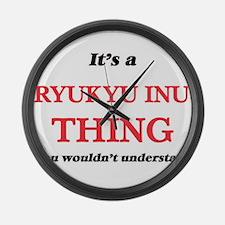 It's a Ryukyu Inu thing, you Large Wall Clock