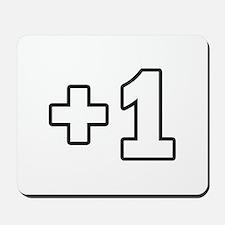 +1 Plus 1 Mousepad