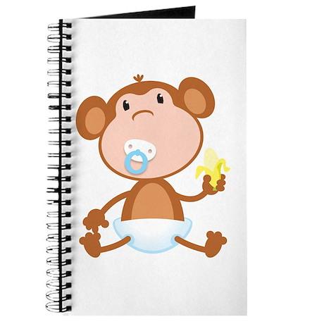 Pacifier Monkey Journal